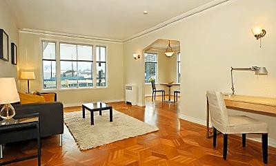 Living Room, 2240 Golden Gate Ave, 0