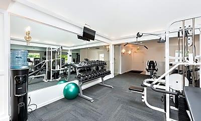 Fitness Weight Room, Thunderbird Village, 1