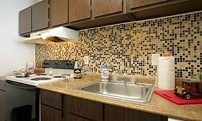 Kitchen, Kingstown Apartments, 1