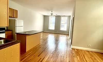 Living Room, 1459 N Milwaukee 2A, 1