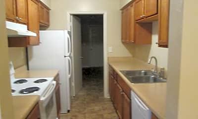 Kitchen, College Square Duplexes, 1
