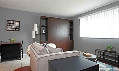 Living Room, Lakewood Properties, 1