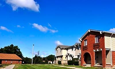 Building, Vanderbilt Townhomes, 2