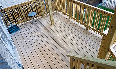 Patio / Deck, 2741 N Central Park Ave, 2