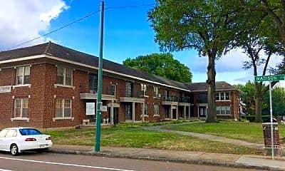 Building, Overton Gardens, 2