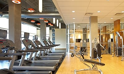 Fitness Weight Room, Palisades Of Towson, 2