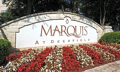 Community Signage, Marquis at Deerfield, 2