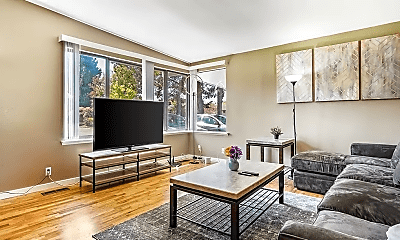 Living Room, 4234 S Brighton St, 1