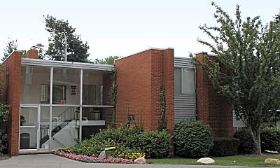 Building, Woodward North Apartments, 1