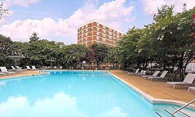 Pool, Dominion Towers Apartments, 0