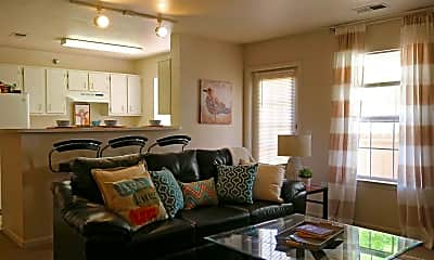 Living Room, Campus Habitat, 1