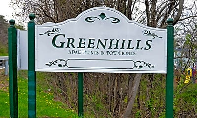 Community Signage, Greenhills Townhomes and Apartments, 0