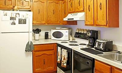 Kitchen, Lakeside Apartments, 1