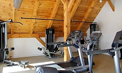 Fitness Weight Room, Barnbeck Place, 2