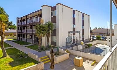 Building, Hilltop House Apts, 0
