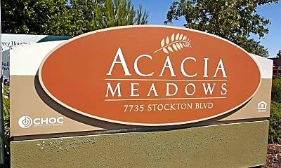 Community Signage, Acacia Meadows, 2