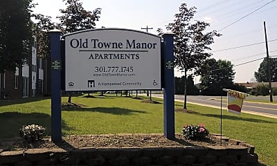 Old Towne Manor, 1