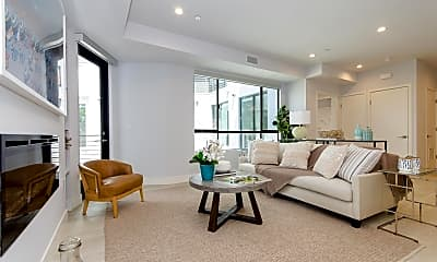 Living Room, 5955 Saturn Street, 2