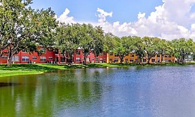 Lake, Windtree Apartments, 0