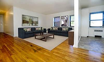 Living Room, Market Street Apartment Homes, 1