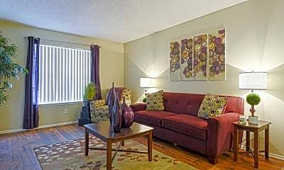 Living Room, Valley Oaks, 1
