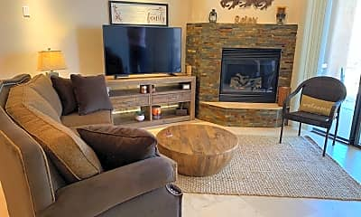 Living Room, 10156 E. Whitefeather Lane, 1