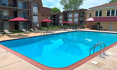 Pool, Randolph Square Apartments, 1