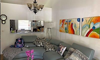 Living Room, 22016 Palms Way 206, 0
