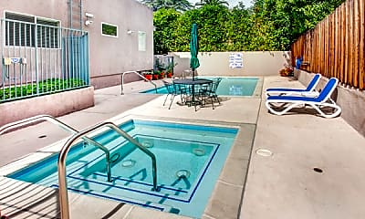 Pool, 12917 Valleyheart Dr 7, 2