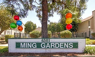 Community Signage, Ming Gardens, 2
