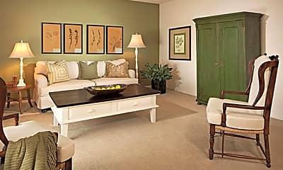 Living Room, Mariner Square, 1