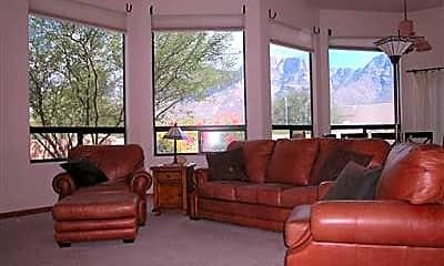 Living Room, 11435 N Skywire Way, 1