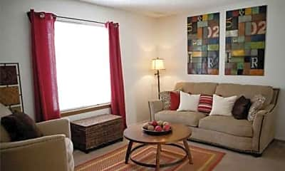 Living Room, Parkview Town Homes, 1