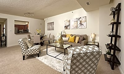Living Room, Bethesda Place Apartments, 0