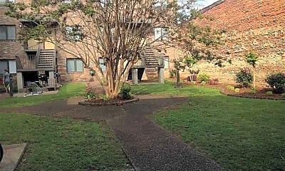 Courtyard, Tombigbee Court, 0