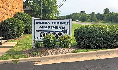 Indian Springs Apartments, 1