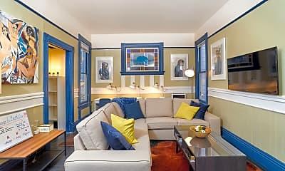 Living Room, 2332 Fulton St, 1