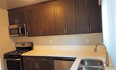 Kitchen, Ladera Townhouse Apartments, 1