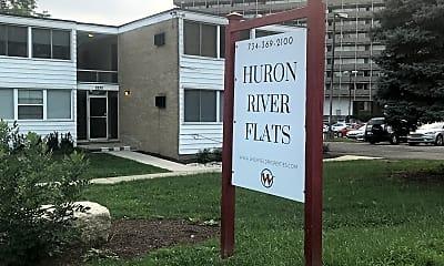 Huron River Flats Apartments, 1