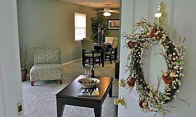 Living Room, Hillside Court, 0