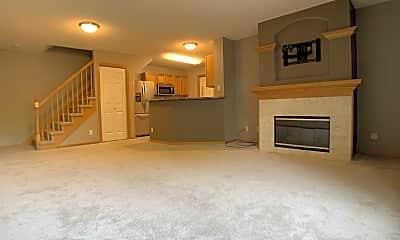 Living Room, 811 Burr Oaks Dr, 1
