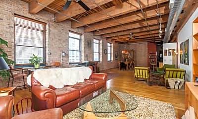 Living Room, 14 N Peoria St, 1