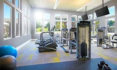Fitness Weight Room, Ashbrook by Broadmoor, 2