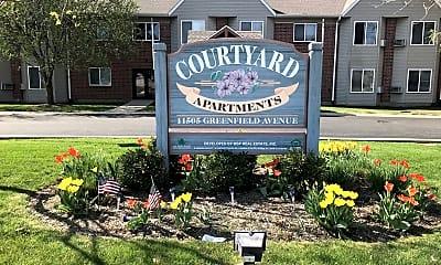 Community Signage, Courtyard Senior Apartments, 0