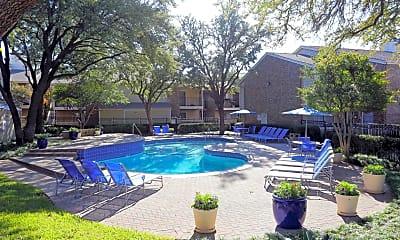 Pool, Davenport Apartments, 1
