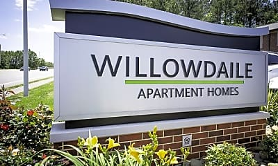 Community Signage, Willowdaile Apartments, 2