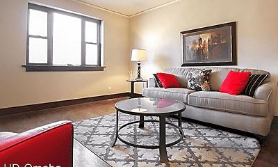 Living Room, 3304 Burt Street, 0