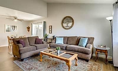 Living Room, 2233 W Farmdale Ave 1, 2
