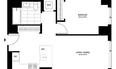 Living Room, 2840 Jackson Ave, 2