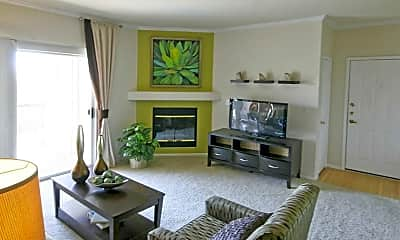 Living Room, Westlake Greens Apartments, 1